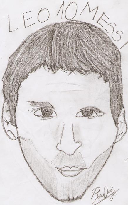 Lionel Messi by RocioDiaz